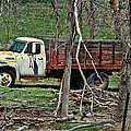 Old Truck At Rest by Sylvia Thornton