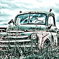 Old Truck - Cool Glaze by Lori Frostad