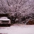 Old Truck In The Snow by David S Reynolds