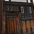 Old Tudor Doorway by Denise Mazzocco