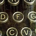 Old Typewrater by Bernard Jaubert