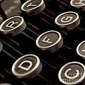 Old Typewriter by Bernard Jaubert