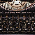 Old Typewriter by Paulo Goncalves