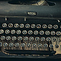 Old Typewriter With Letter by Garry Gay