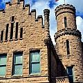 Old Vanderburgh County Jail by Deena Stoddard