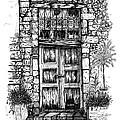Old Venetian Door In Rethymno by Franko Brkac