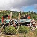 Old Wagon Along The Road by Tom Janca