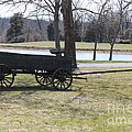 Old Wagon by Sharon Wilkens