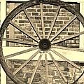 Old Wagon Wheel 1 by Cynthia Guinn