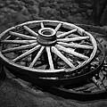 Old Wagon Wheels by Paul Freidlund