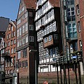 Old Warehouses Port Of Hamburg  by Christiane Schulze Art And Photography