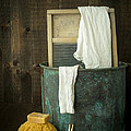 Old Washboard Laundry Days by Edward Fielding