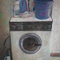 Old Washing Machine by Paez  ANTONIO