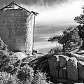 Old Water Tower by Phyllis Denton