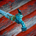 Old Water Valve by Chad Rowe