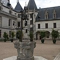 Old Well And Courtyard Chateau Chaumont by Christiane Schulze Art And Photography