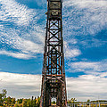 Old Welland Lift Bridge  by Guy Whiteley