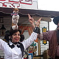 Old West Canine Show Patriotic Dog Pinal County Fair Eleven Mile Corner Arizona 2005 by David Lee Guss