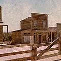 Old West Scene by Dan Vallo
