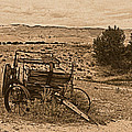 Old West Wagon by Leland D Howard