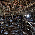 Old West Wagon Storage And Shop by Daniel Hagerman