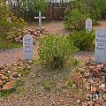 Old Western Gravesite by John Malone