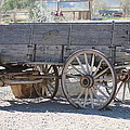 Old Western Wagon by G Berry