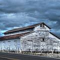 Old White Barn by Juli Scalzi