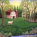Old White Barn by Linda Mears