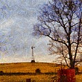 Old Windmill On The Farm by Dan Sproul