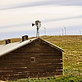 Old Windmill Vs New Windmills by Image Takers Photography LLC