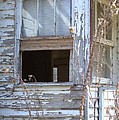 Old Windows Overlooking New World by Gordon Elwell