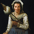 Old Woman Spinning, 1646-48 by Michael Sweerts