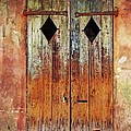 Old Wooden Door In French Quarter by Jaime Crosas