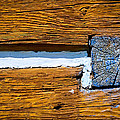 Old Wooden Houses Timbers by Jozef Jankola