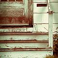 Old Wooden Porch by Jill Battaglia