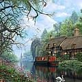 Old Woodland Cottage by Dominic Davison
