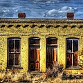 Old Yellow House In Buena Vista by Lanita Williams