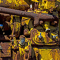 Old Yellow Motor by Garry Gay