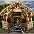 Oldest Steamtrain Station San Francisco by Blake Richards