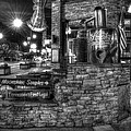 Ole Smoky Tennessee Moonshine In Black And White by Greg and Chrystal Mimbs