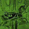 Olive Green Horse by Rob Hans