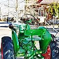 Oliver 60 Tractor In Dell by Image Takers Photography LLC