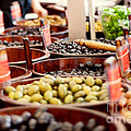 Olives In Barrels by Ivy Ho