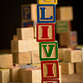 Olivia - Alphabet Blocks by Edward Fielding