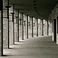 Olympiastadion Berlin Corridor by Lexi Heft