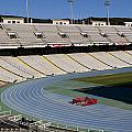 Olympic Stadium Barcelona by Lorraine Devon Wilke