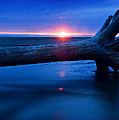 Olympic Sunset by Jeffrey LeBlanc