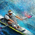 Olympics Rowing 01 by Miki De Goodaboom