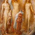 Olympus On Ida by George Frederic Watts